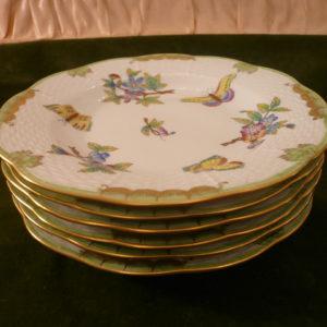 Herend Queen Victoria dessert plates 516/VBO