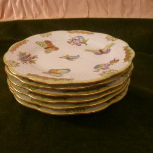 Herend Queen Victoria dessert plates 514/VBO
