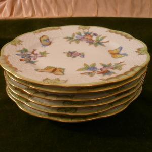 Herend Queen Victoria dessert plates 516 1/2 /VBO