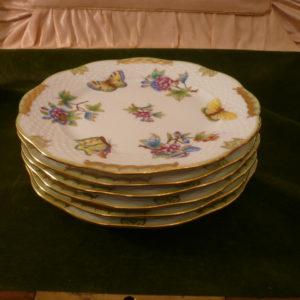 Herend Queen Victoria dessert plates 517/VBO