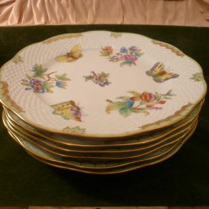 Herend Queen Victoria dessert plates 519/VBO