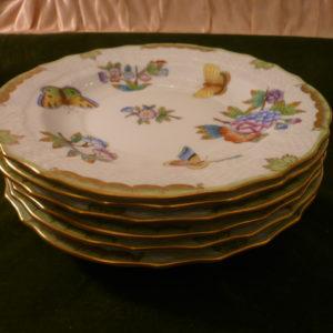 Herend Queen Victoria dessert plates 1518/VBO