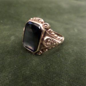 Man's antique diamond ring