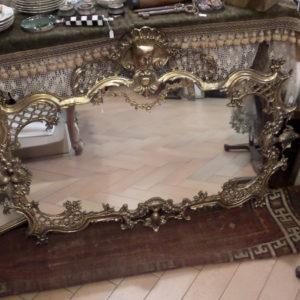 Huge wall mirror