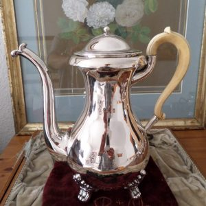 Silver tea pot Wienna 1858
